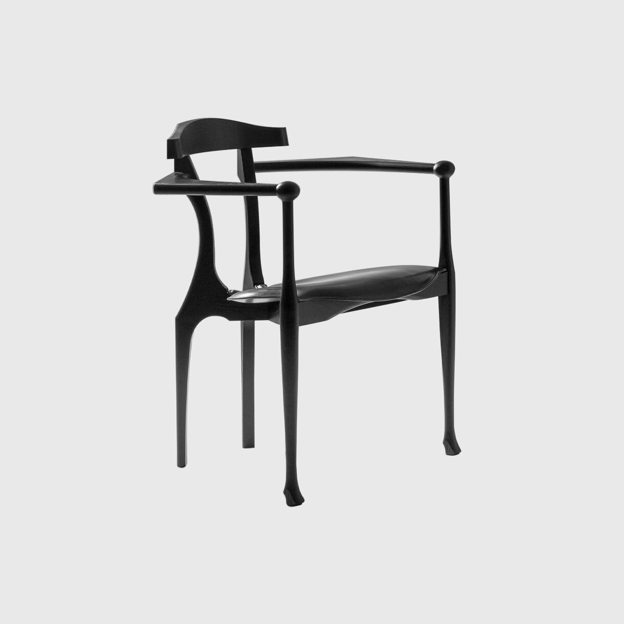 Gaulino Easy Chair, Black Lacquer