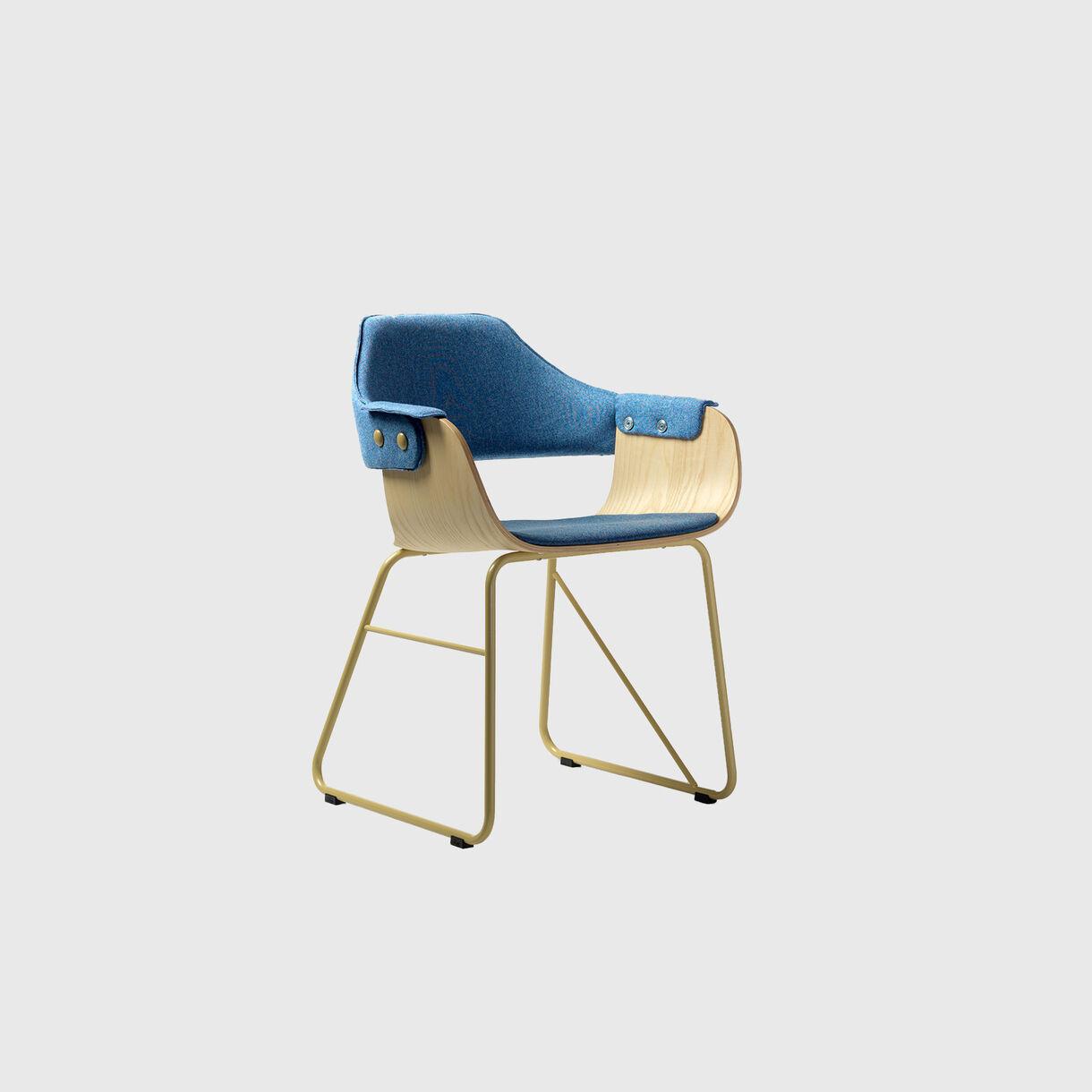 Showtime Chair, Sled Base
