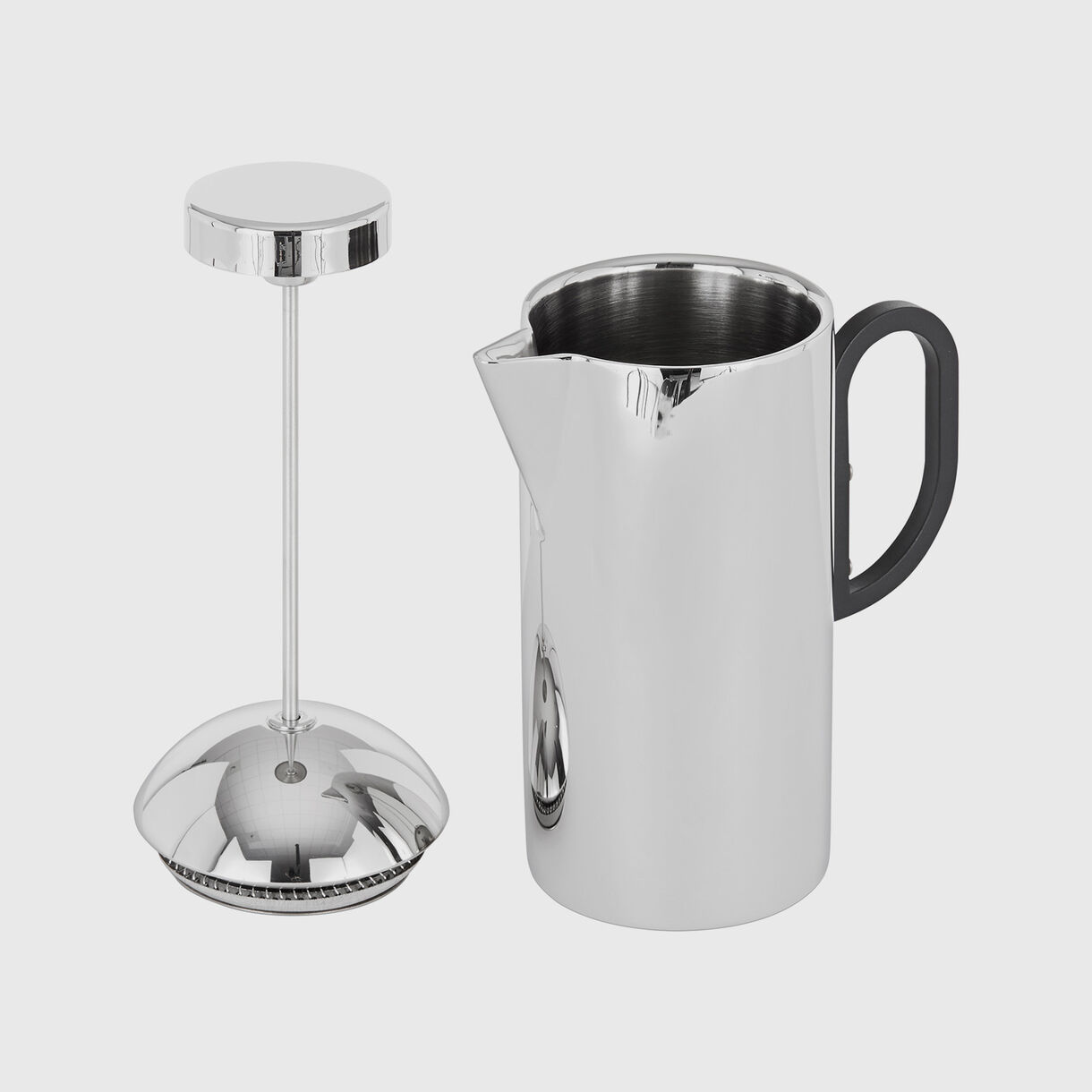 Brew Cafetiere, Chrome