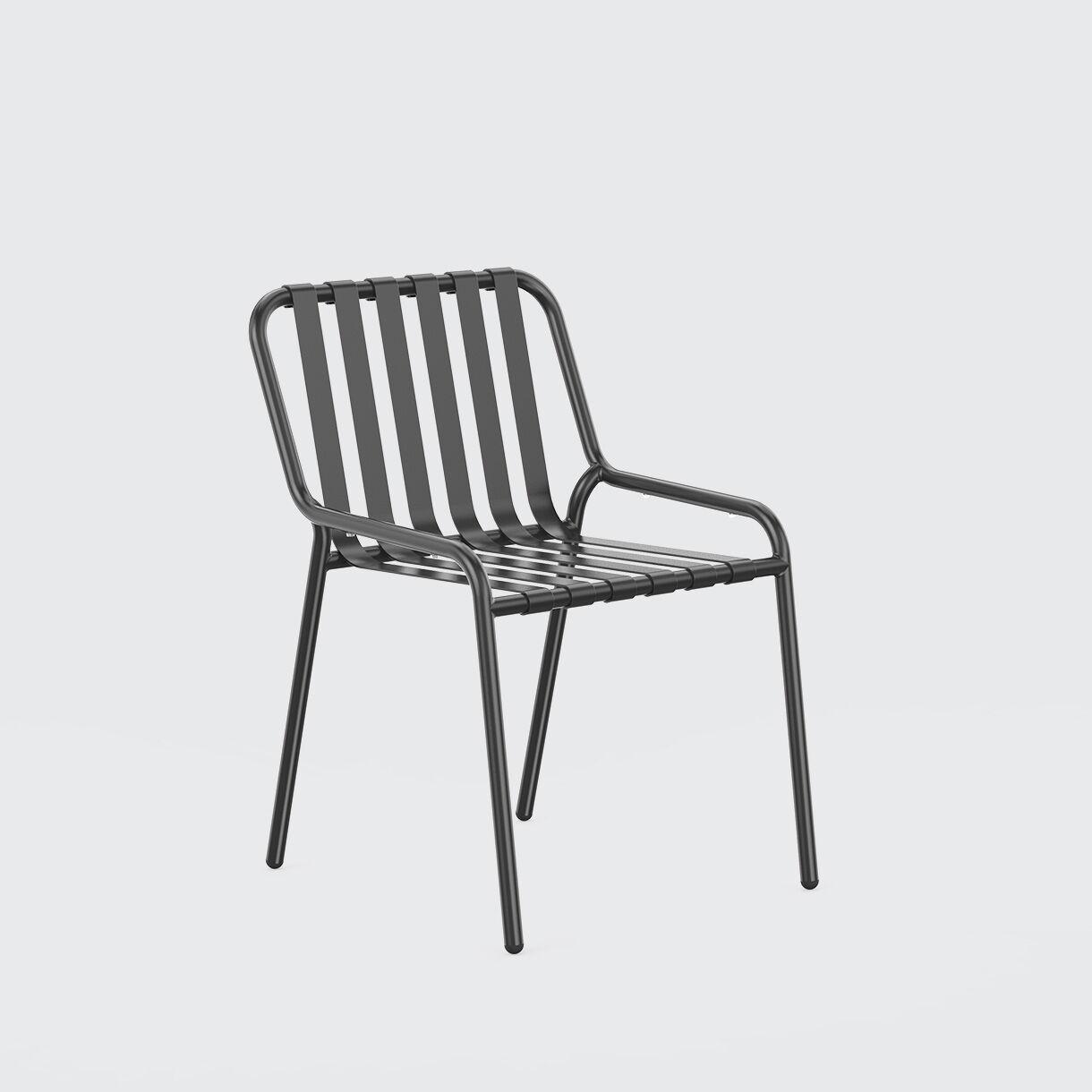 Strap Chair, Black