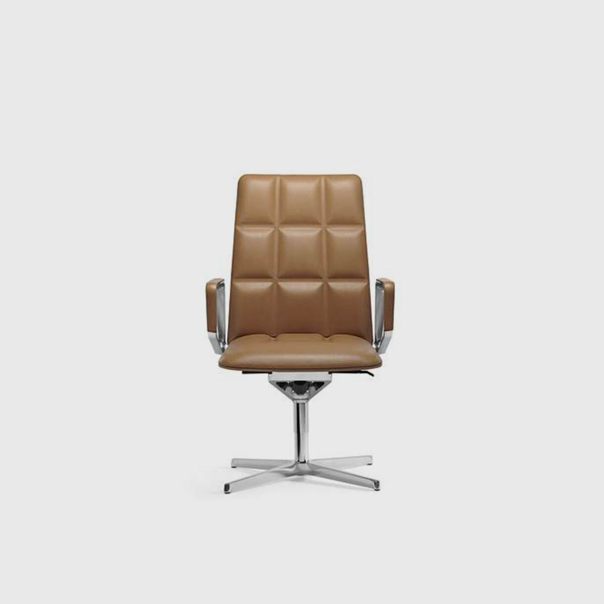 Leadchair Executive, Mid Back, Tan