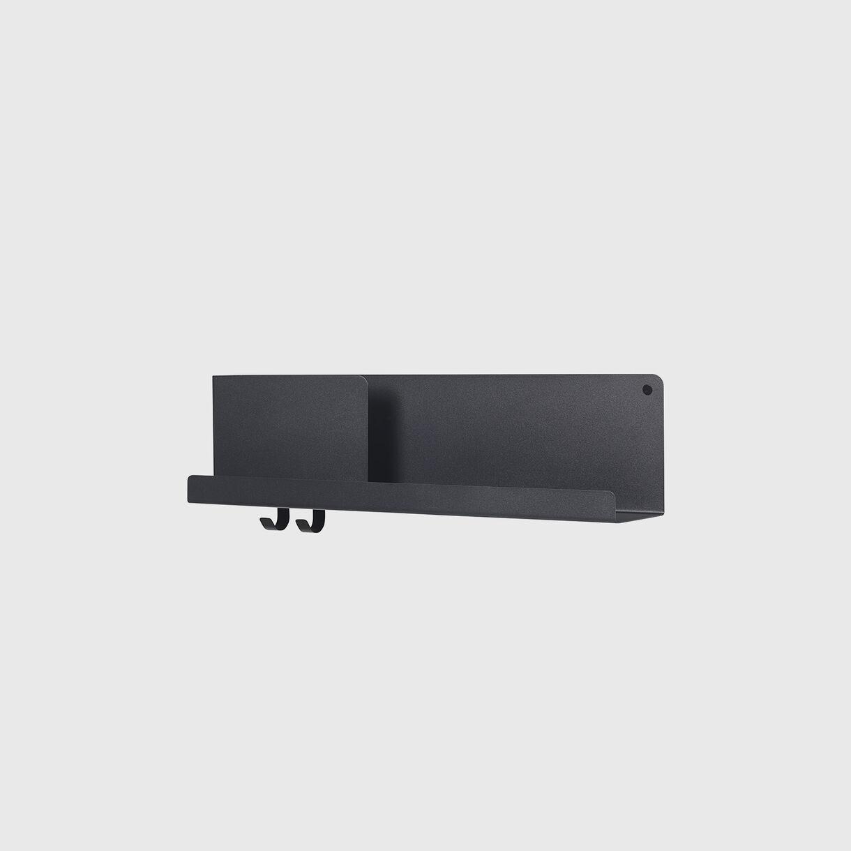 Folded Shelves Medium, Black