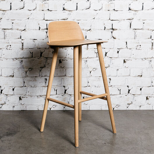 Nerd Counter Stool, Oak