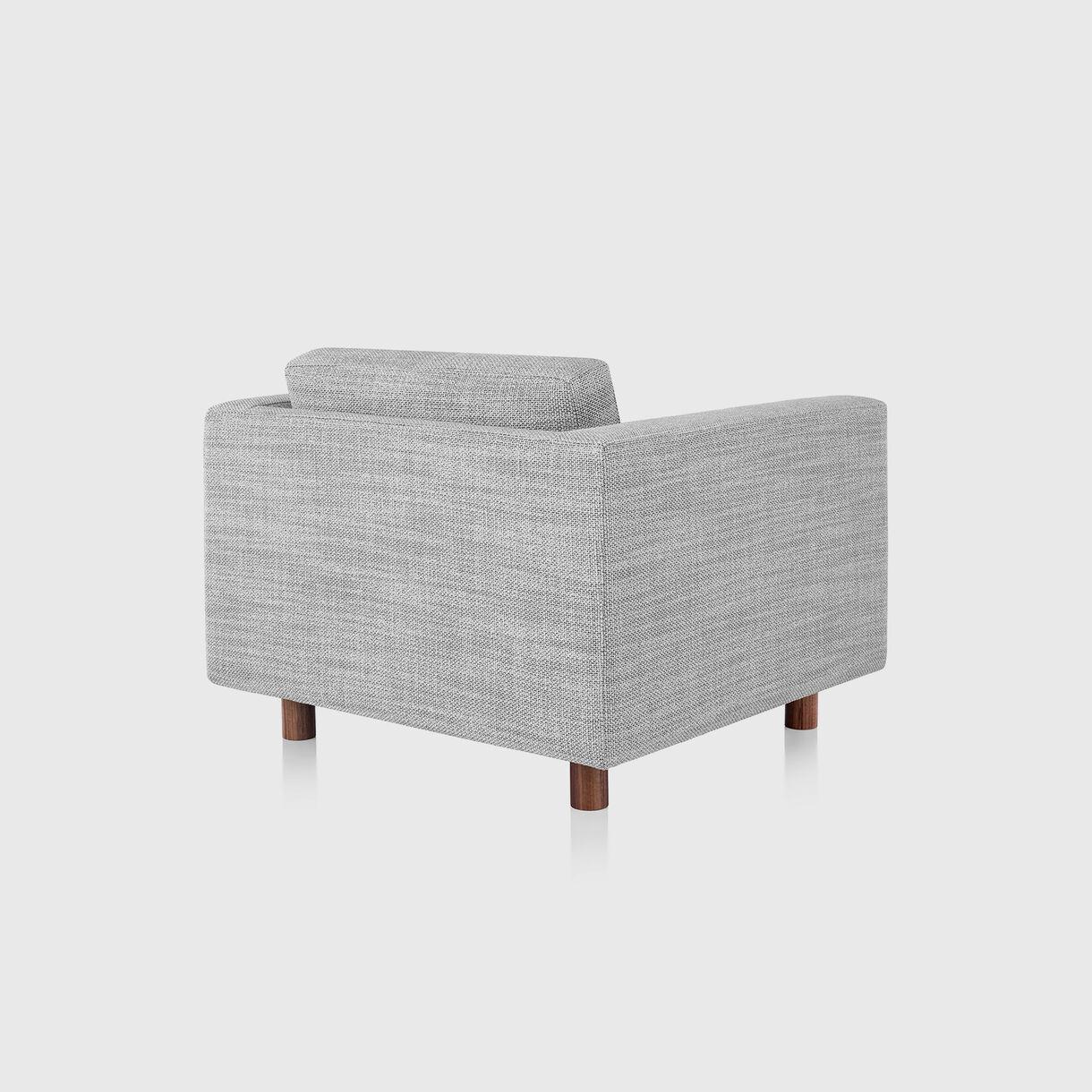 Lispenard Armchair, Capri Light Silver