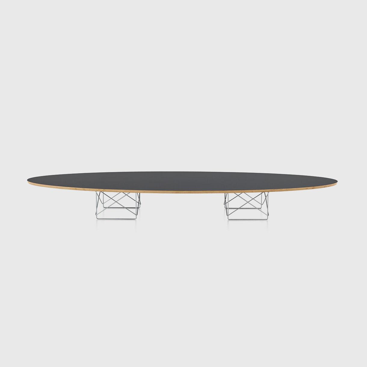 Eames Wire Base Elliptical Table