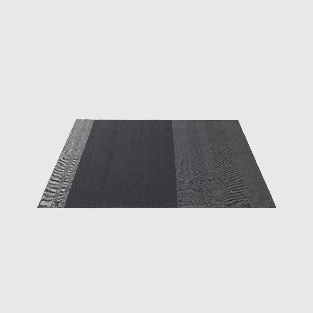 Varjo Rug 200x300cm, Dark Grey