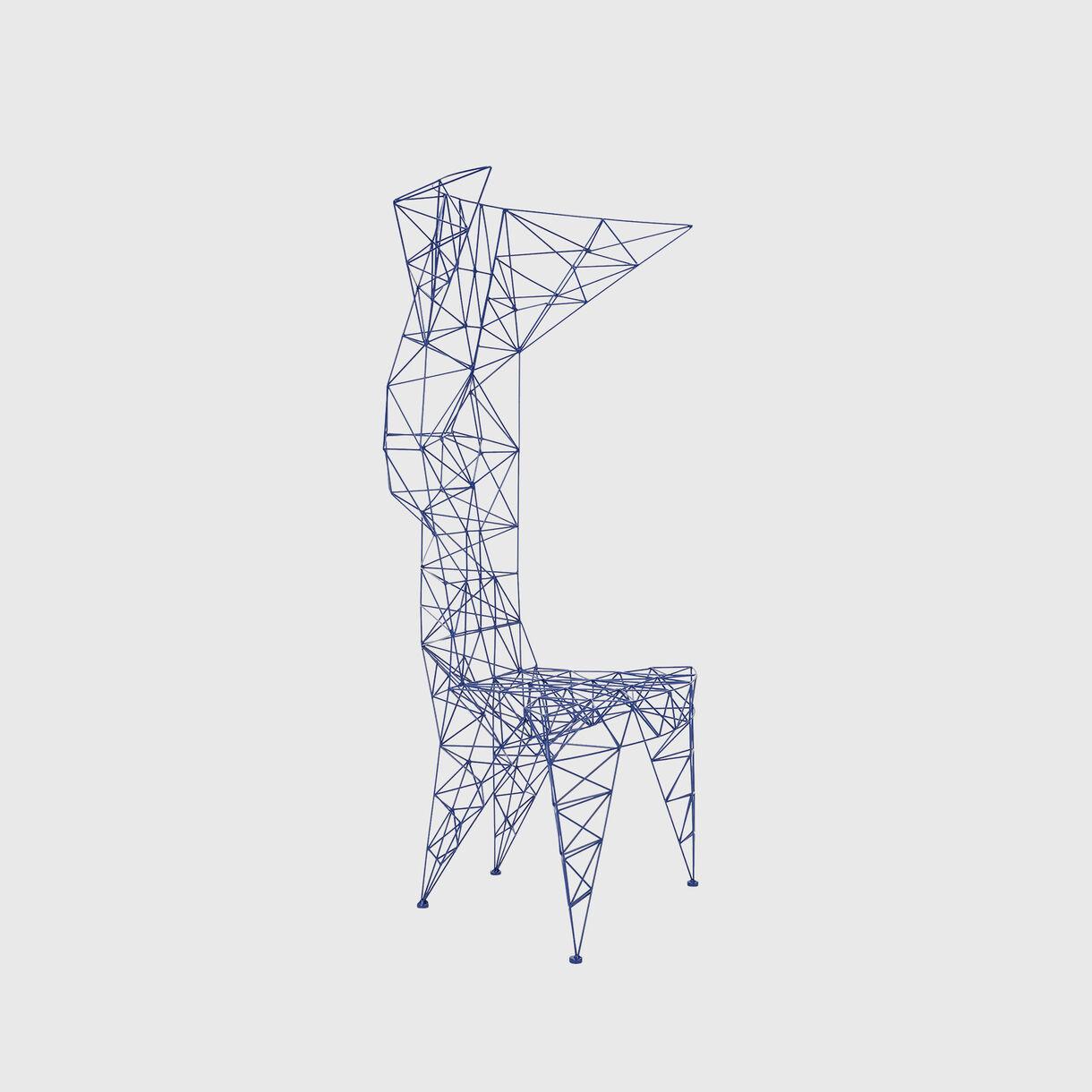 Pylon Chair, Blue