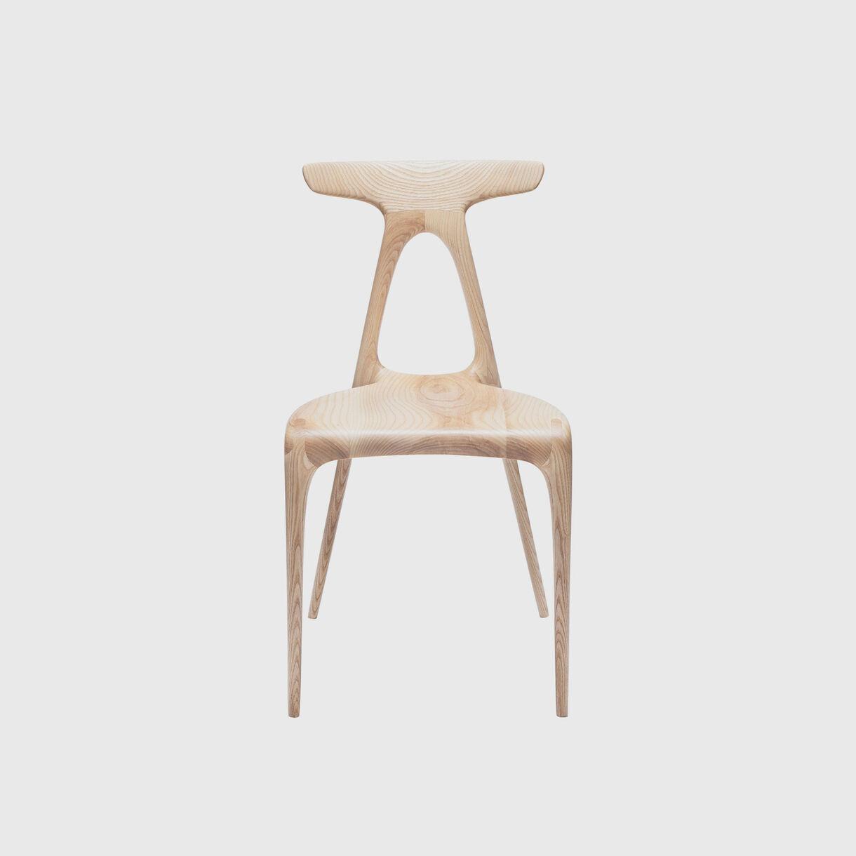 Alpha Chair, Ash, Front