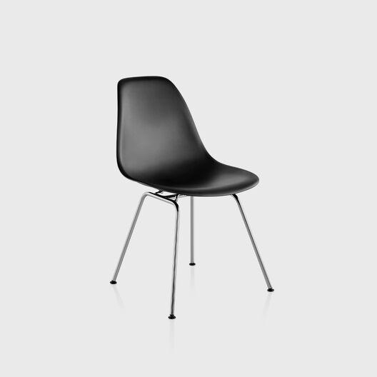 Eames® Moulded Plastic Side Chair, 4-Leg