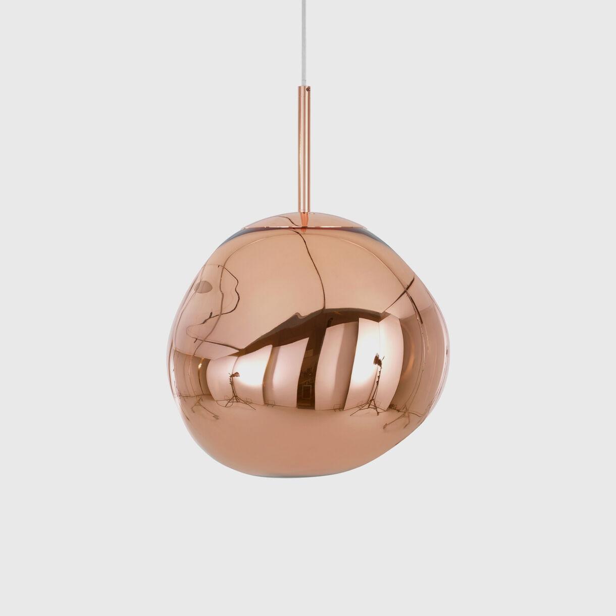 Melt Mini Pendant LED, Copper, Off