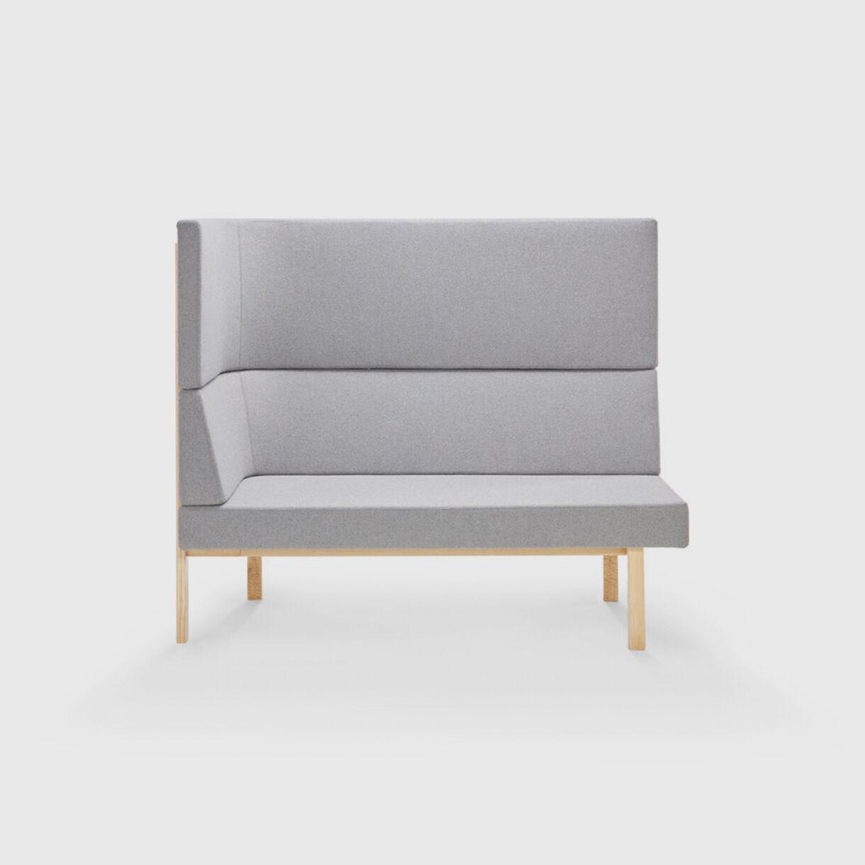 Homework Highback Chaise Lounge, Grey