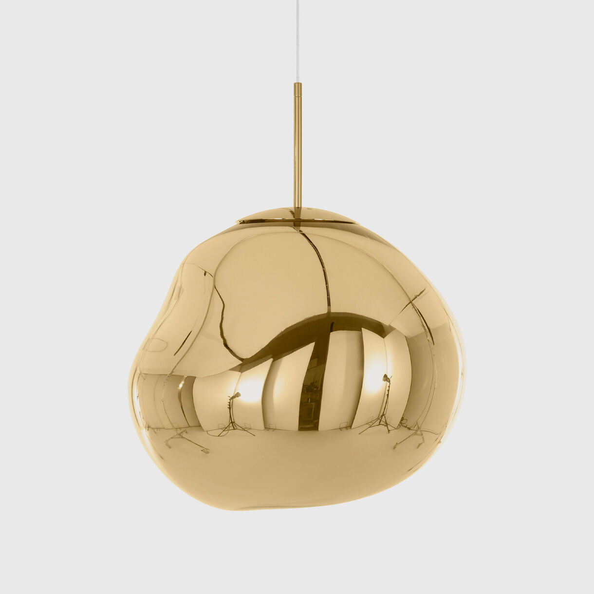 Melt Pendant, LED, Gold, Off