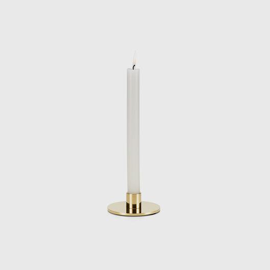 Girard Brass Candle Holder, Circle Low