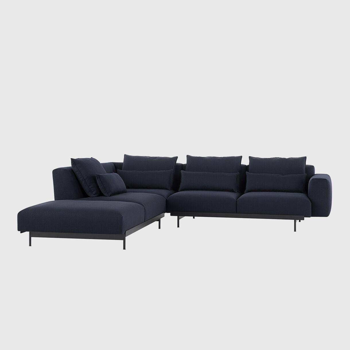 In Situ Modular Sofa - Corner Configuration 2, Vidar 554