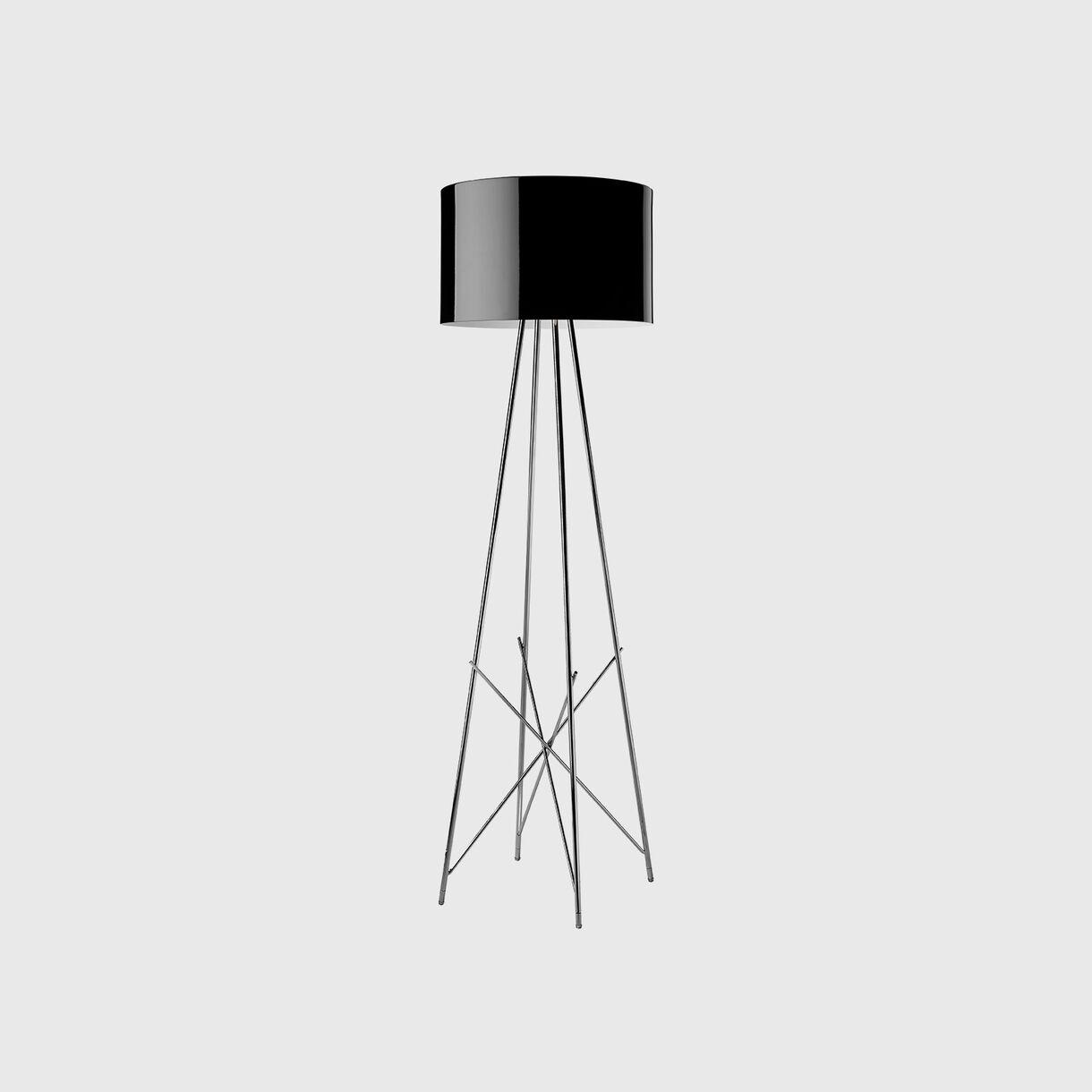 Ray Floor Lamp F1, Black