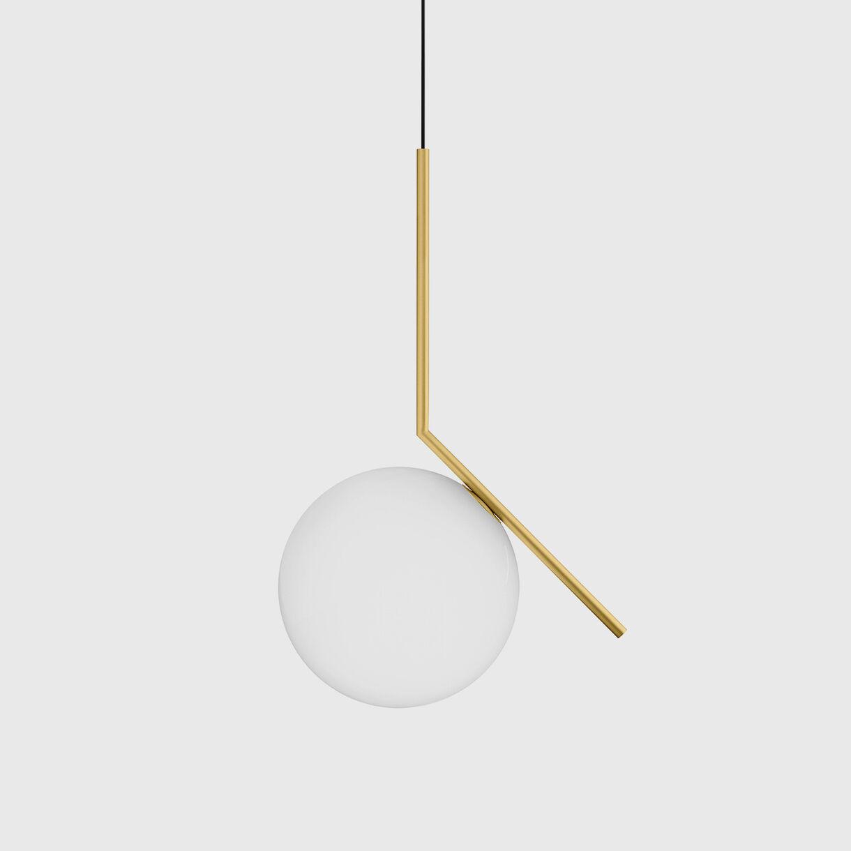 IC Suspension Lamp S2, Brass