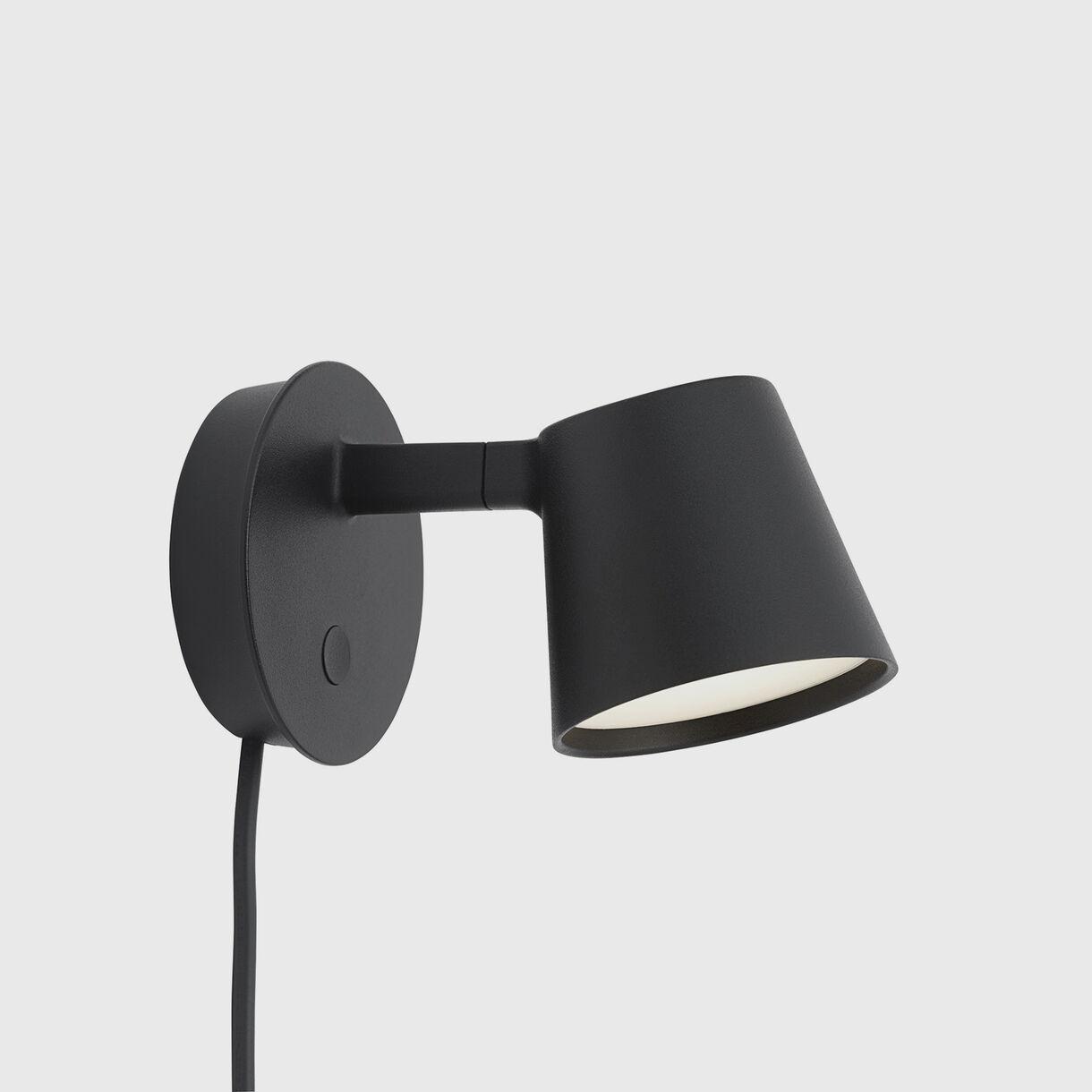 Tip Wall Lamp, Black