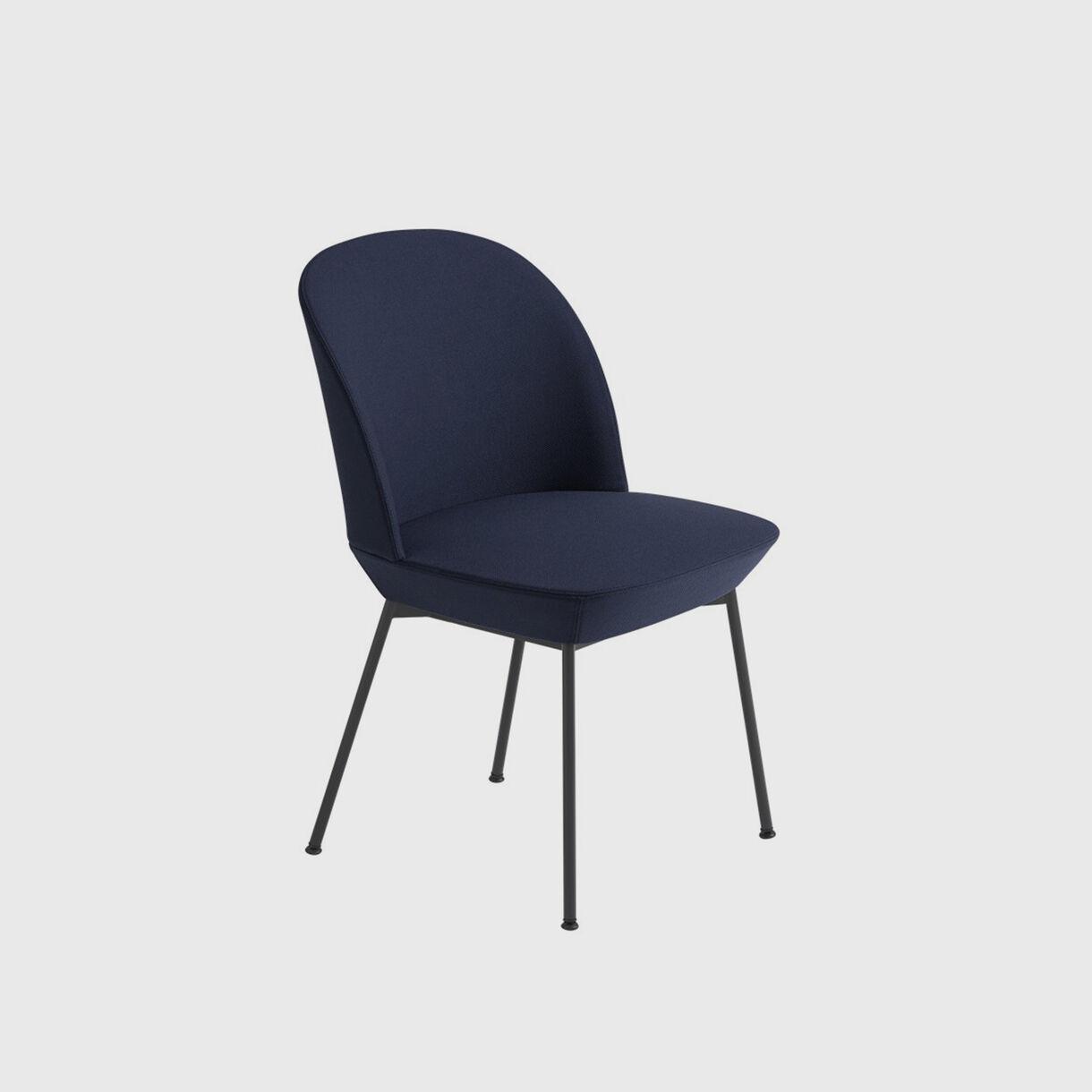 Oslo Side Chair - Steelcut 775 & Black