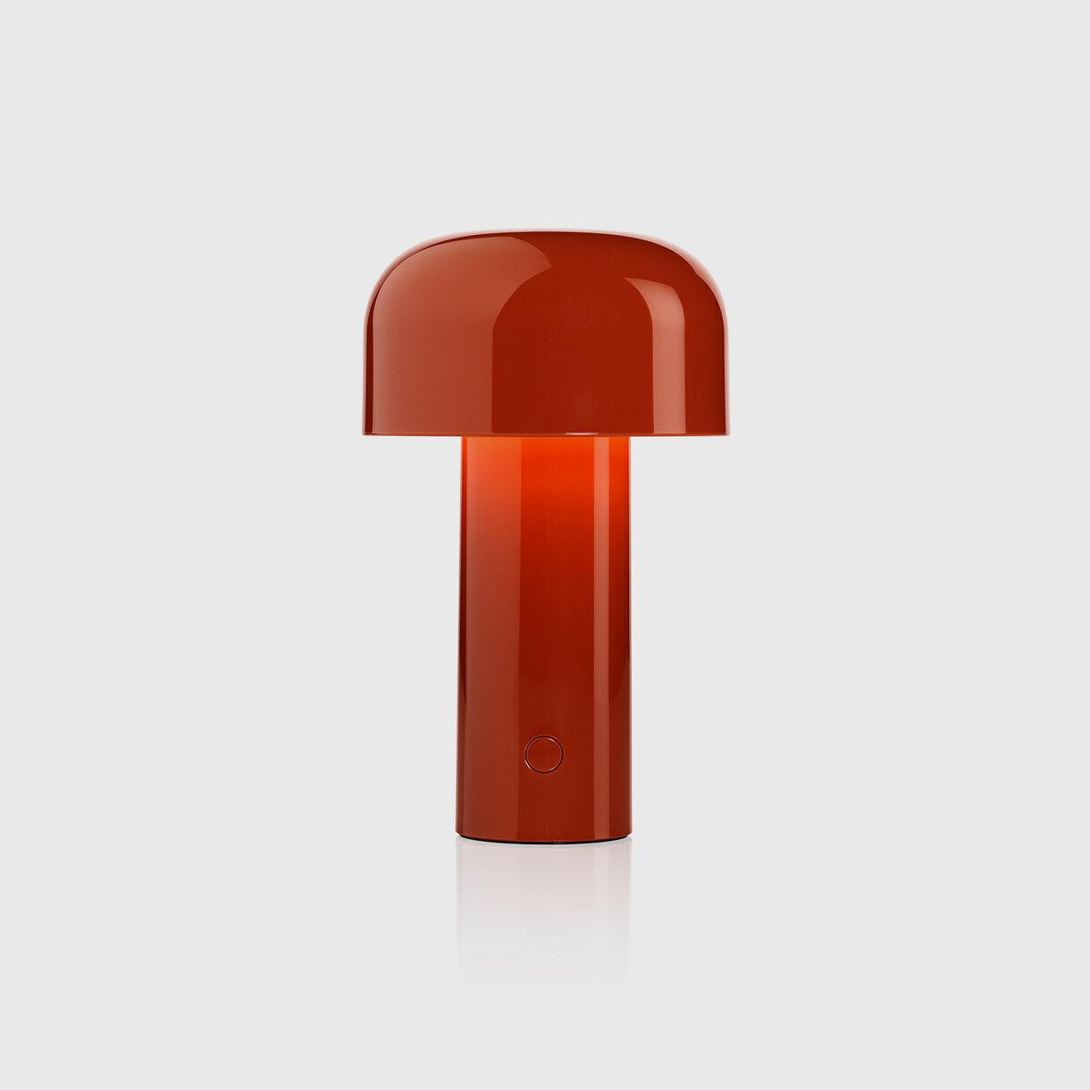 Bellhop Table Lamp, Brick Red