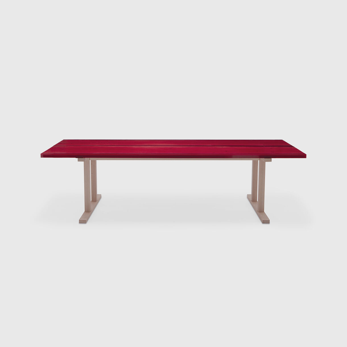Udukuri Table, Ruby Red