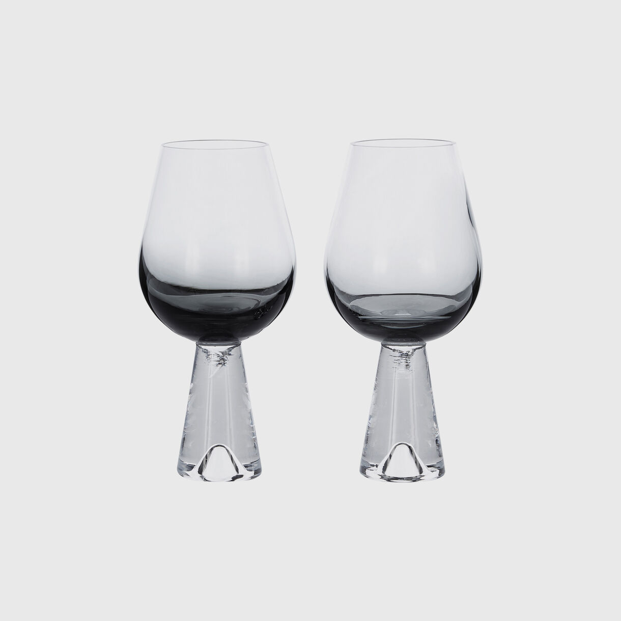 Tank Wine Glasses, Black
