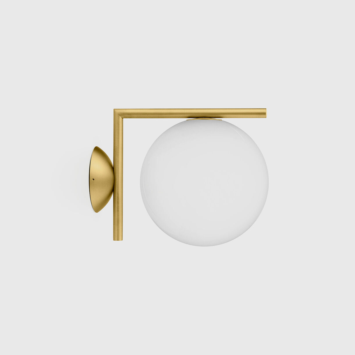 IC Ceiling Wall Lamp C/W1, Brass