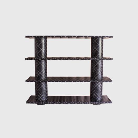 Dark Capiz Shell Shelves