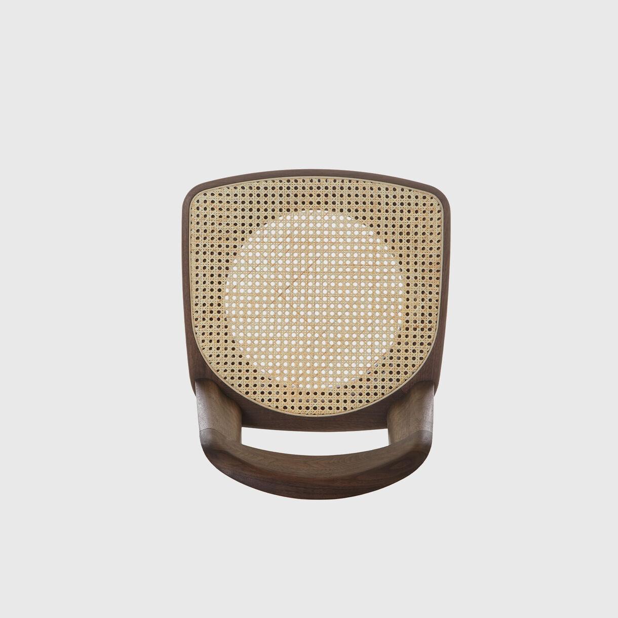 Brutus Chair, Walnut & Vienna Cane