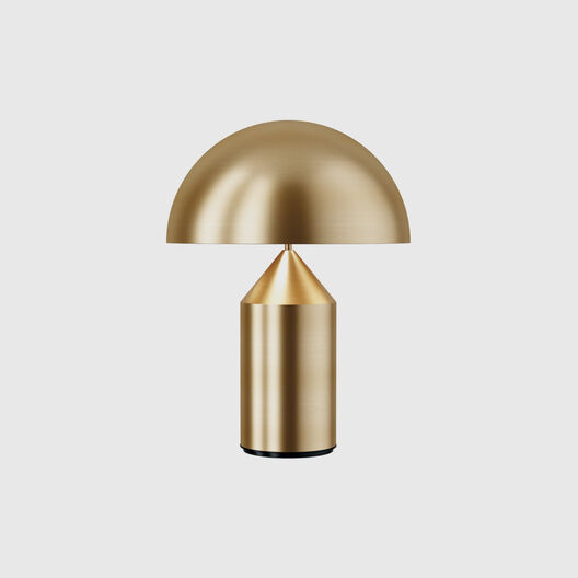 Atollo Table Lamp, Metal