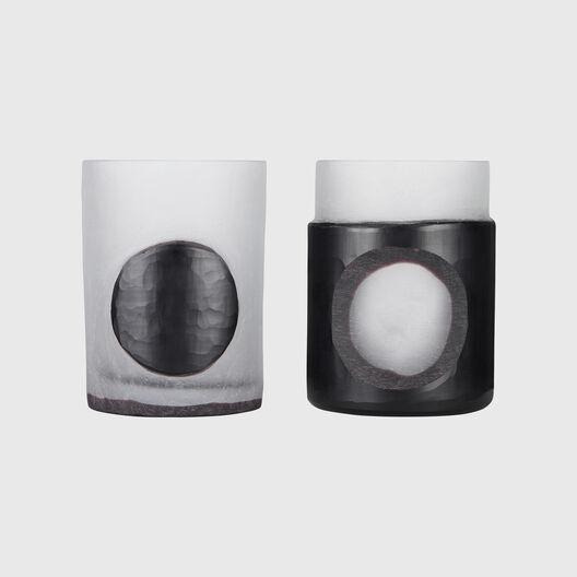 Carved Stem Vases