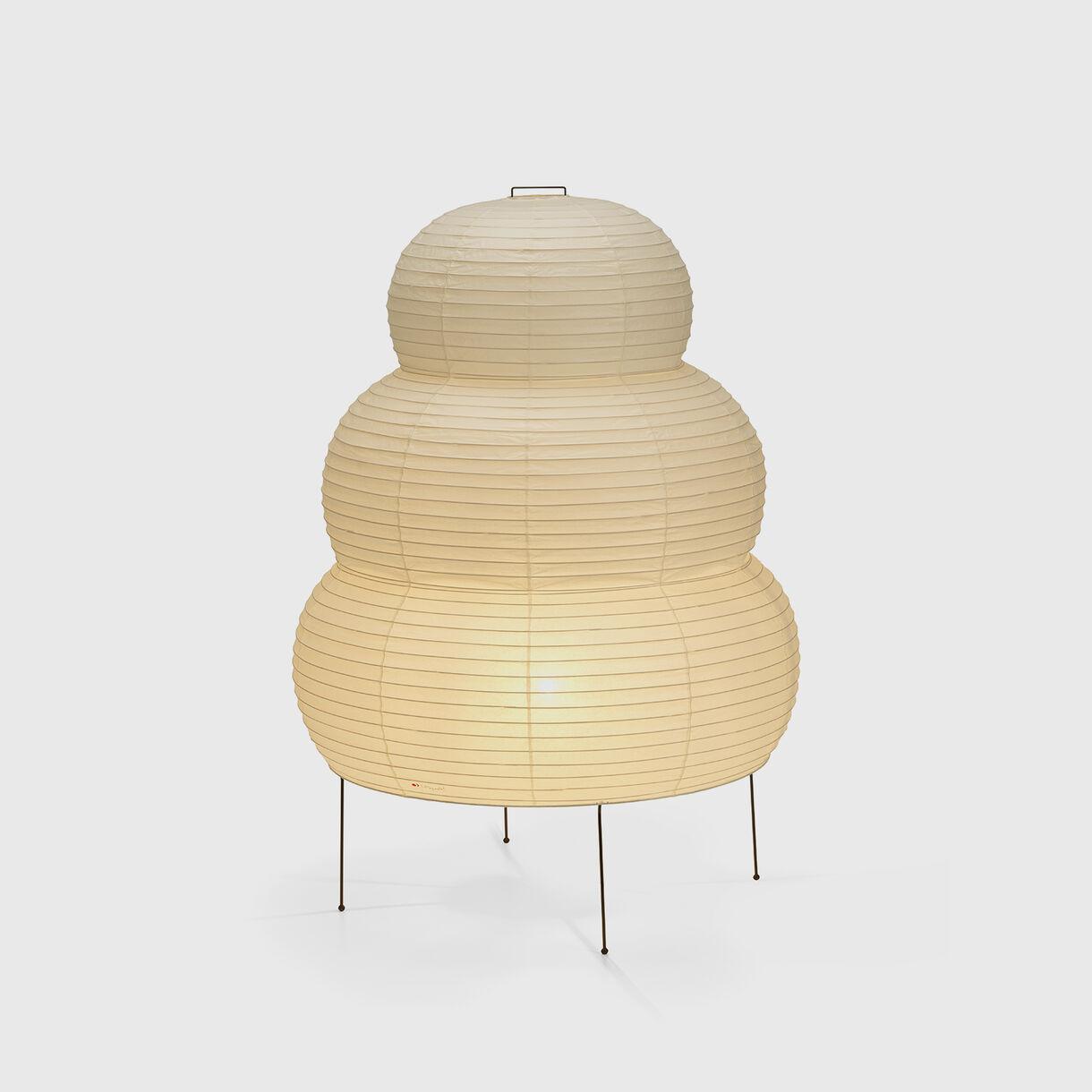 Akari 25N Floor Lamp, On