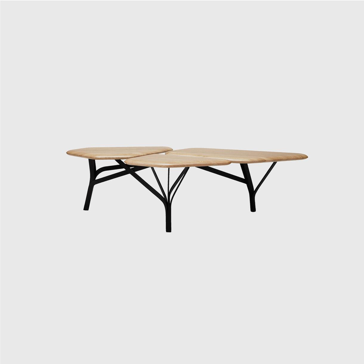 Borghese Coffee Table, Natural Oak