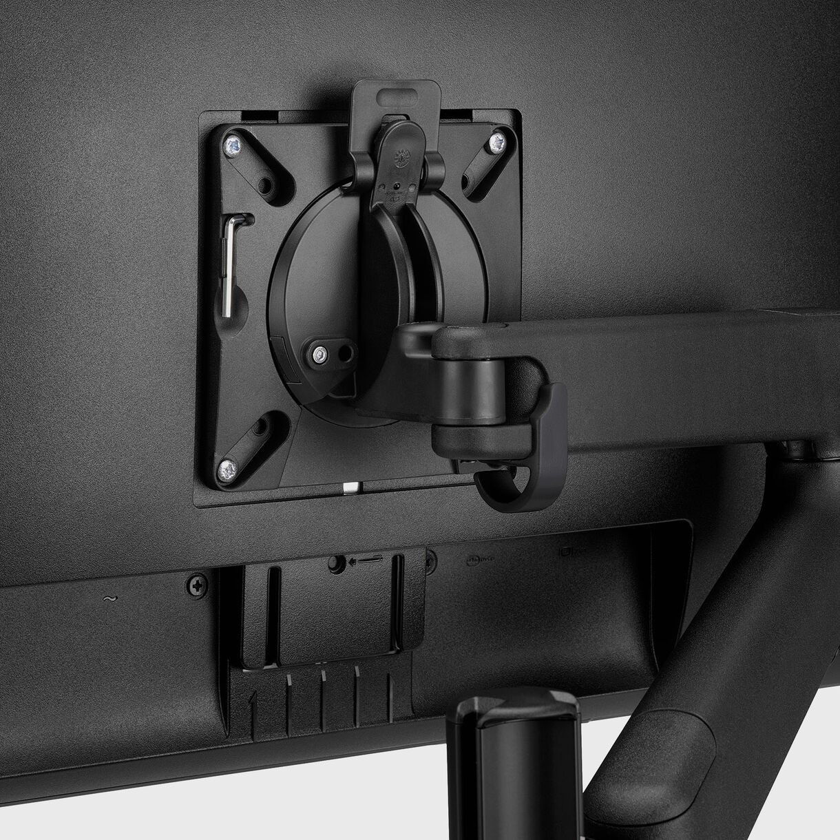 Lima Monitor Arm, Black