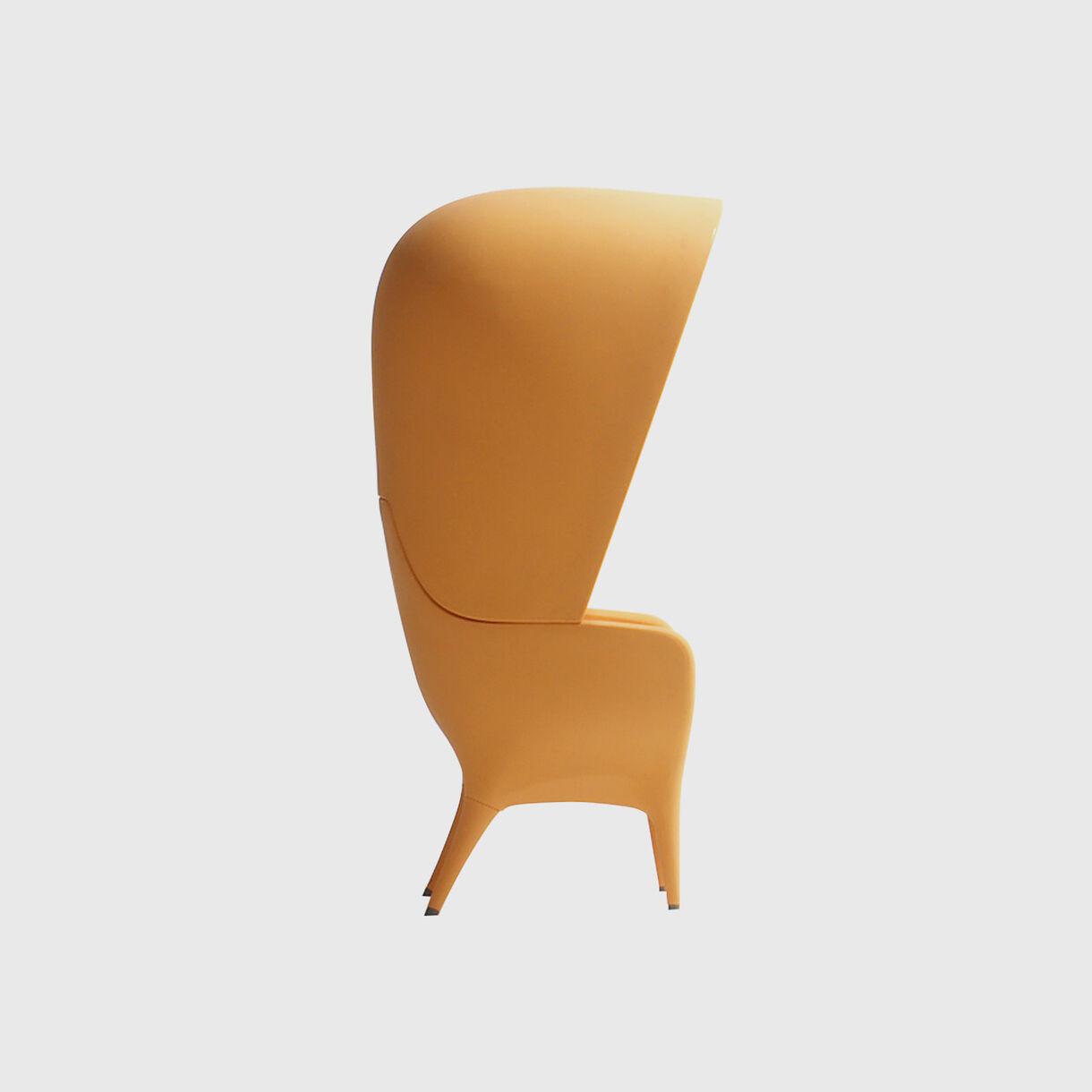 Showtime Poltrona Armchair, Outdoor, Yellow
