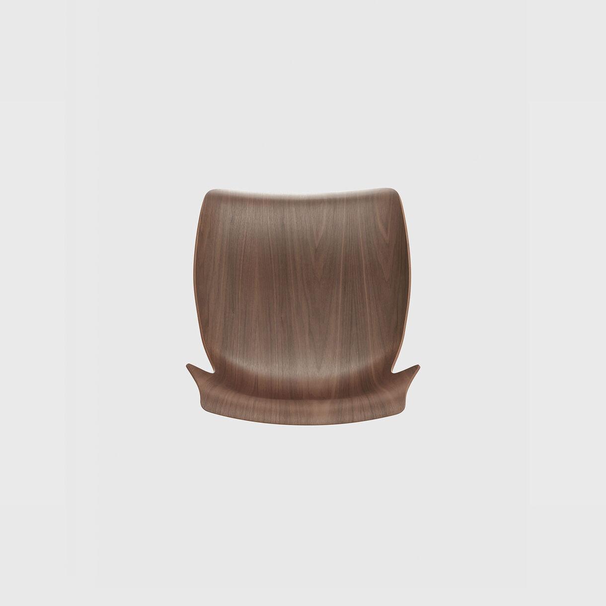 Petal Bar Stool, Walnut