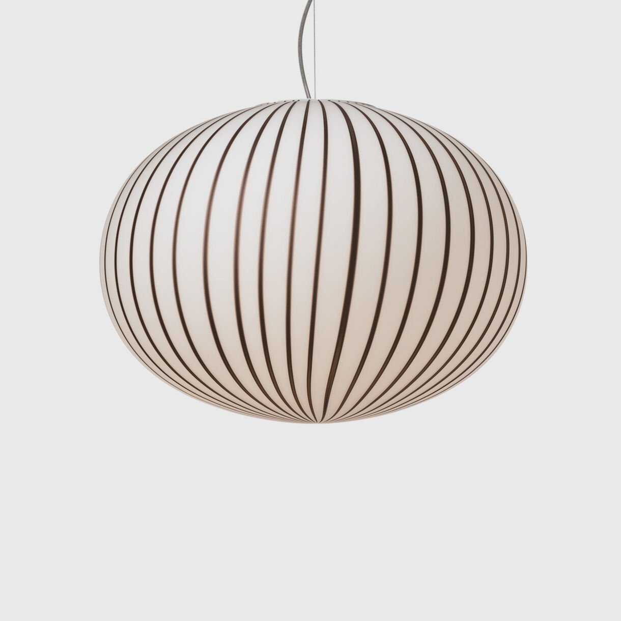 Filigrana Ellipse Pendant Light, Black