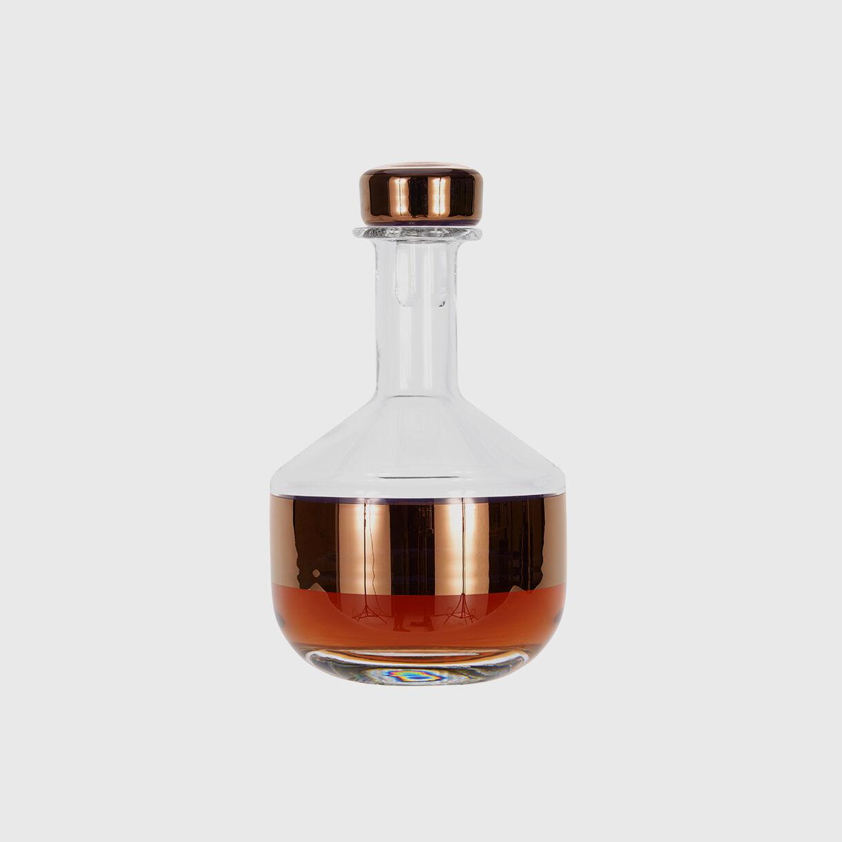 Tank Whiskey Decanter, Copper, Full