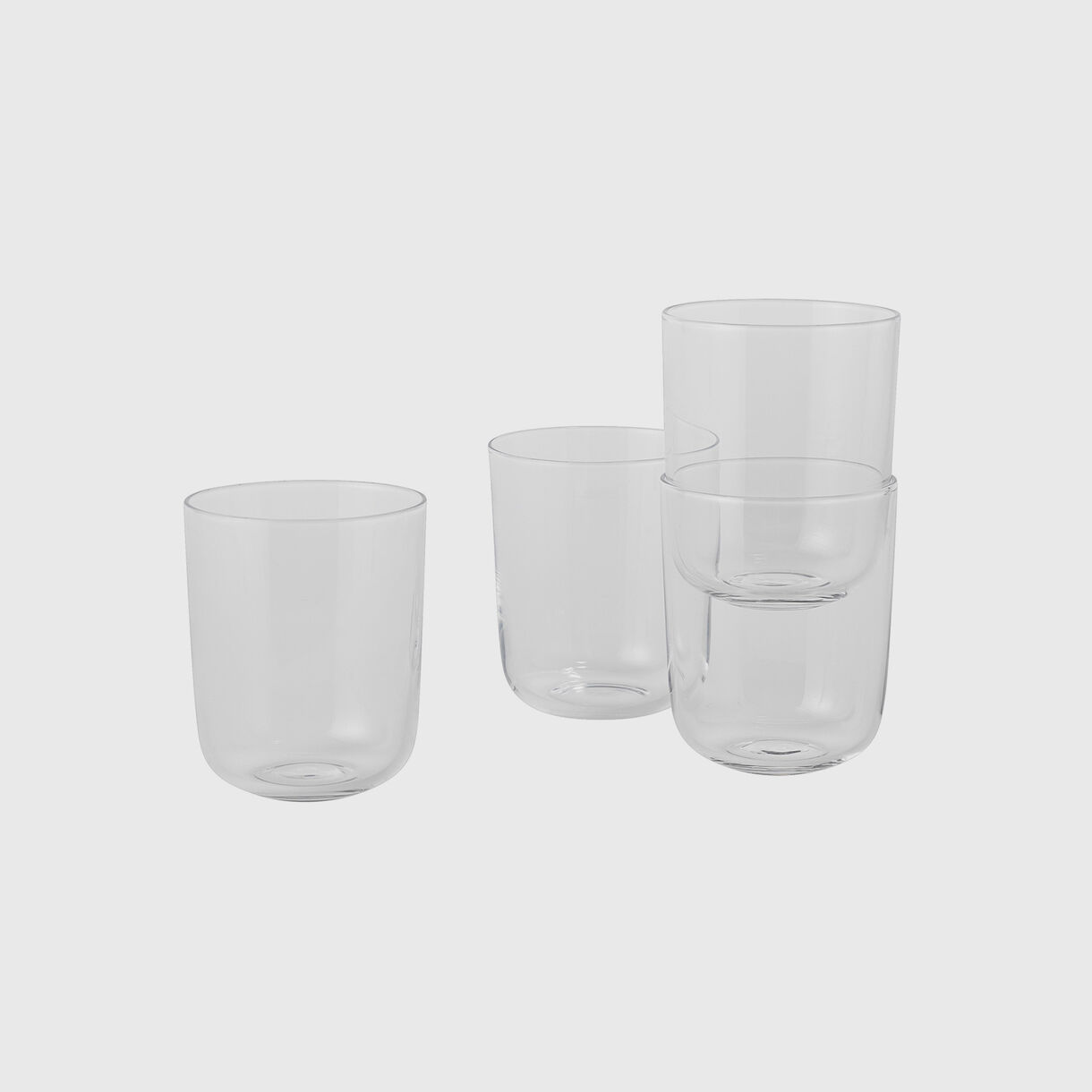 Corky Tall Glasses, Clear