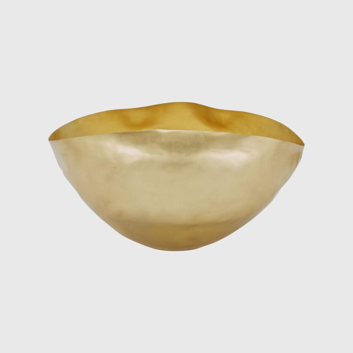 Bash Vessel Large in Brass
