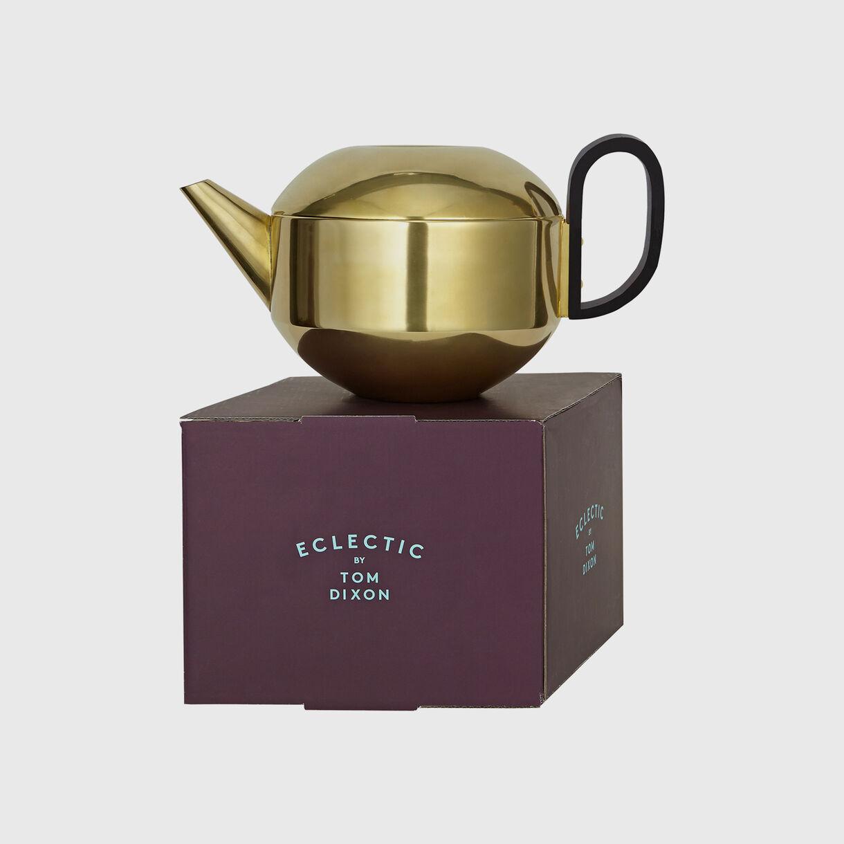 Form Teapot, Brass