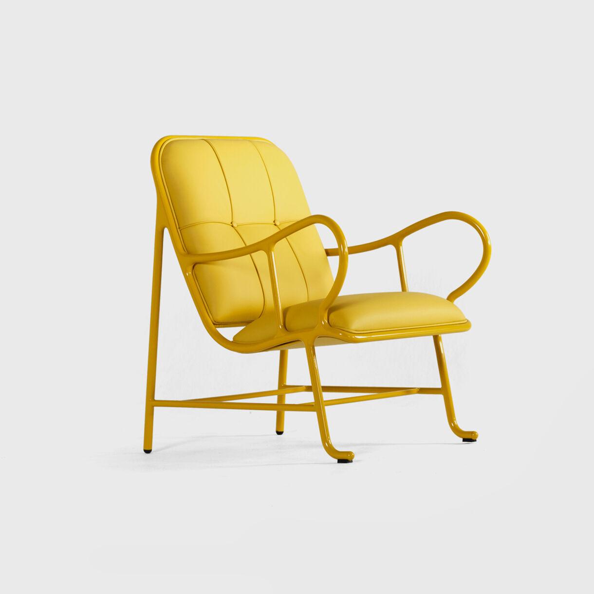 Gardenias Indoor Armchair, Yellow