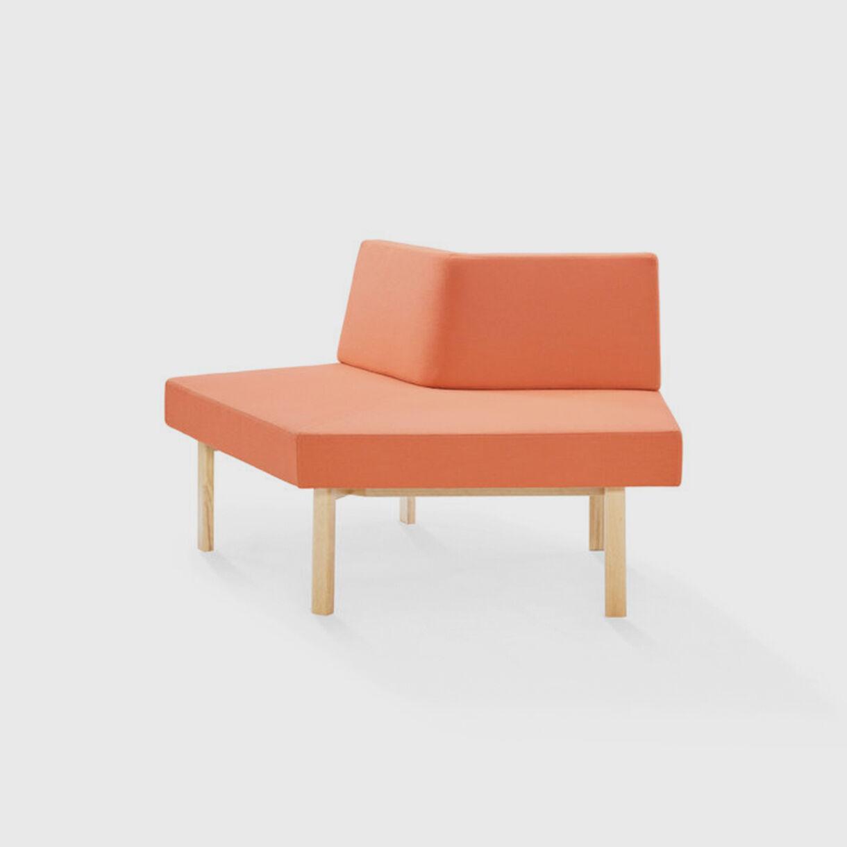 Homework Angled Sofa