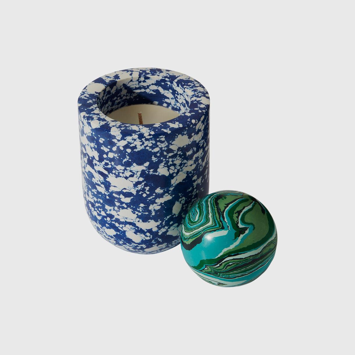 Swirl Ball Candle