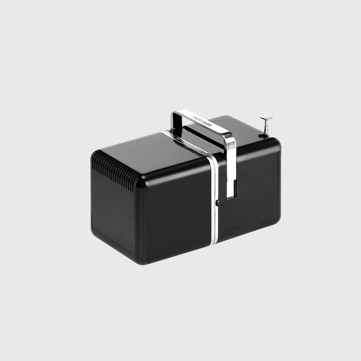 Radio.cubo, Black, Closed