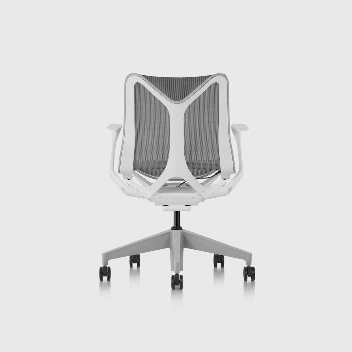 Cosm Chair, Mineral - Low Back - Fixed Arms