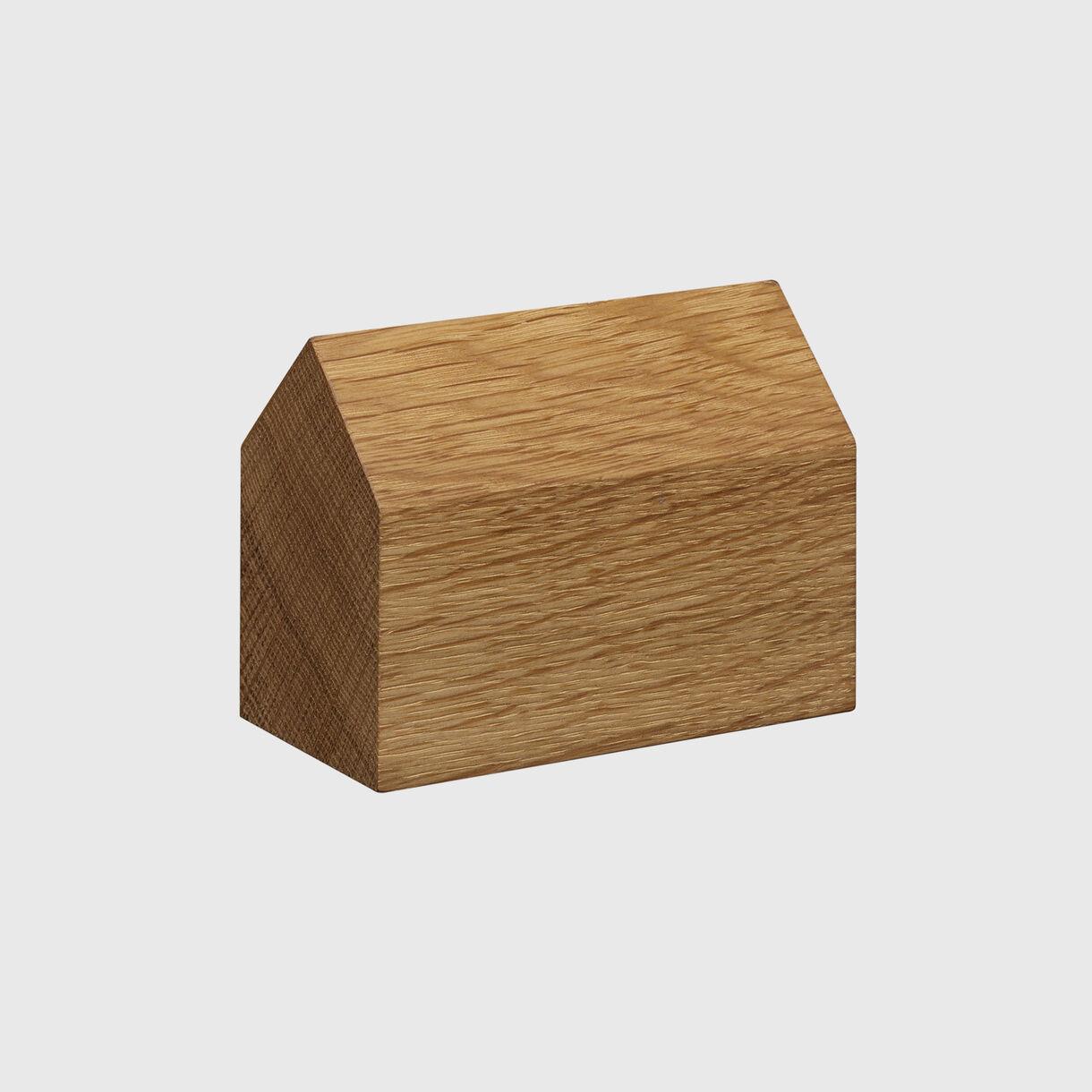 Haus Paper Weight, Saddle Large, European Oak