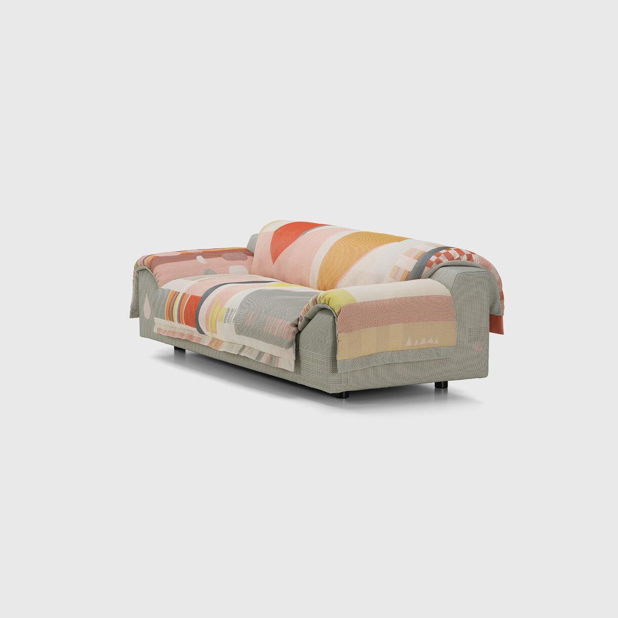 Vlinder Sofa, Light Reds