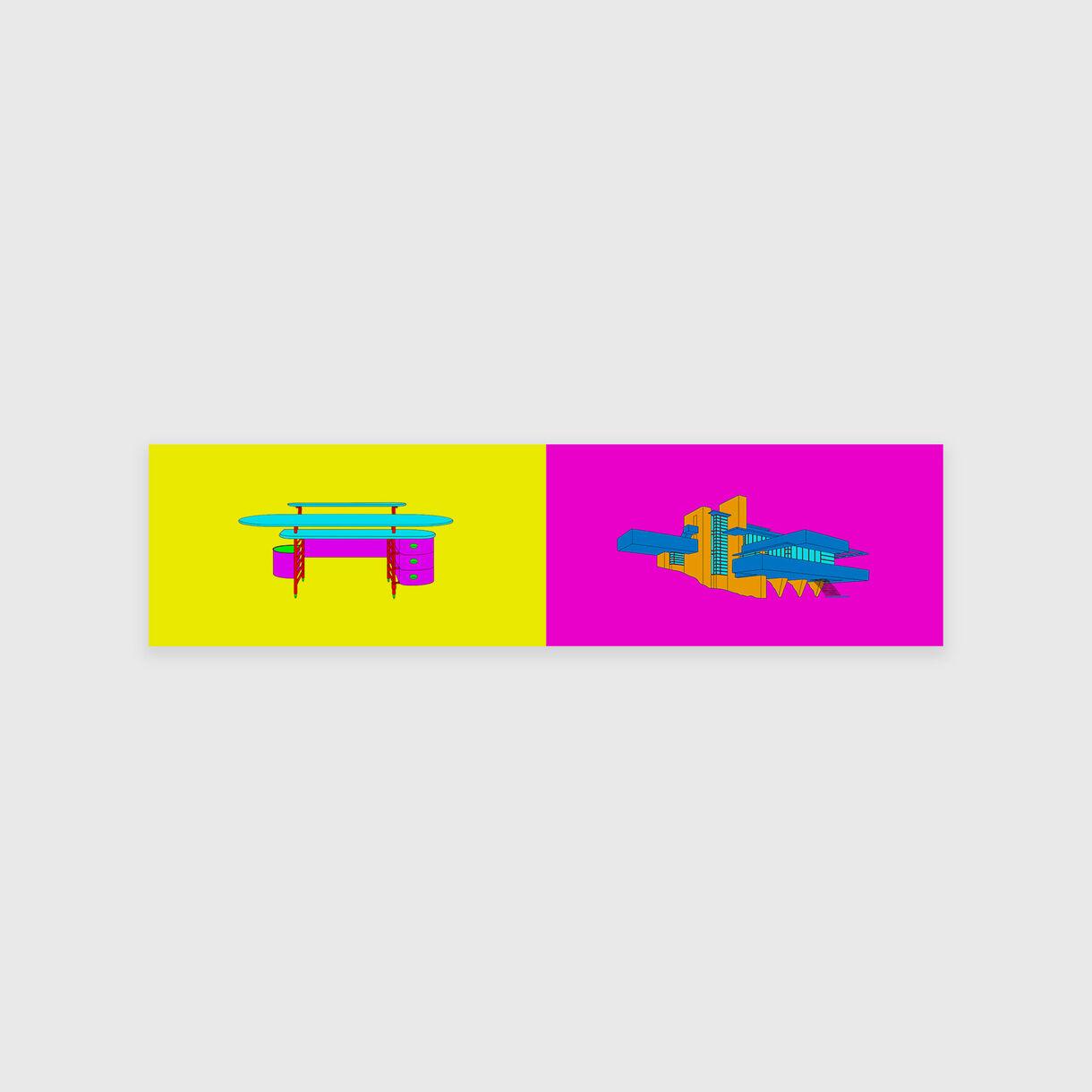 Design and Architecture – Frank Lloyd Wright, Michael Craig-Martin