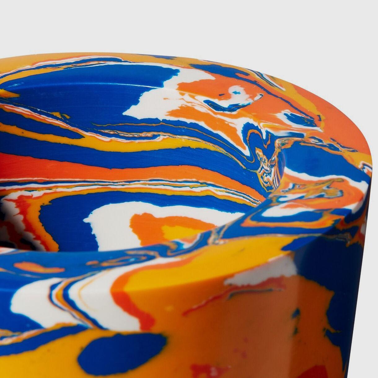 Swirl Stem Vase