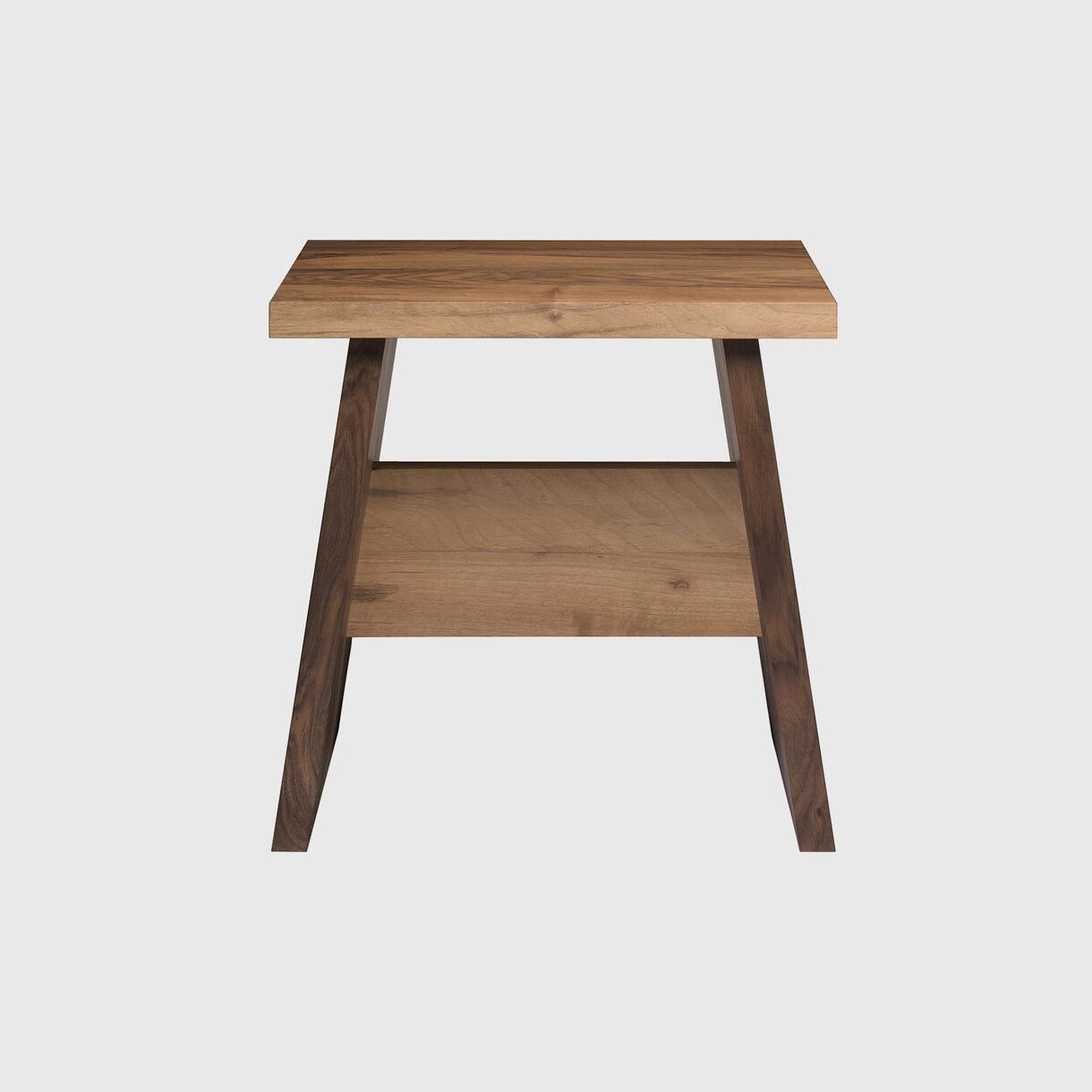 Langley Side Table, Walnut